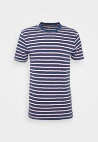 GAP - SLUB STRIPE - T-shirt z nadrukiem - blue/white - 4
