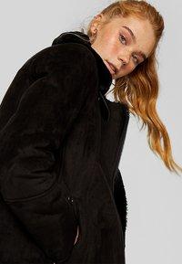 Stradivarius - Winter coat - black - 3