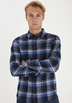 SLIM FIT - Skjorta - dark denim
