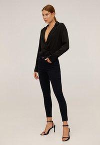 Mango - ISA - Jeans Skinny Fit - black denim - 1