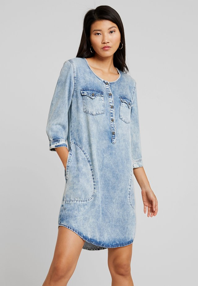 ELORA - Denim dress - heli wash