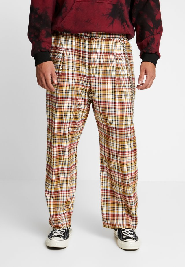 TROUSERS IN BIRGHT  - Stoffhose - multi