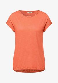 Cecil - Basic T-shirt - orange - 3