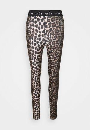 KATECRAS - Leggings - tanned