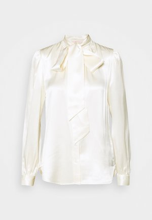 BOW BLOUSE - Button-down blouse - new ivory