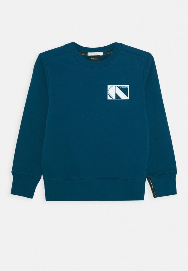 CLUB NOMADE CREWNECK - Sweater - petrol blue