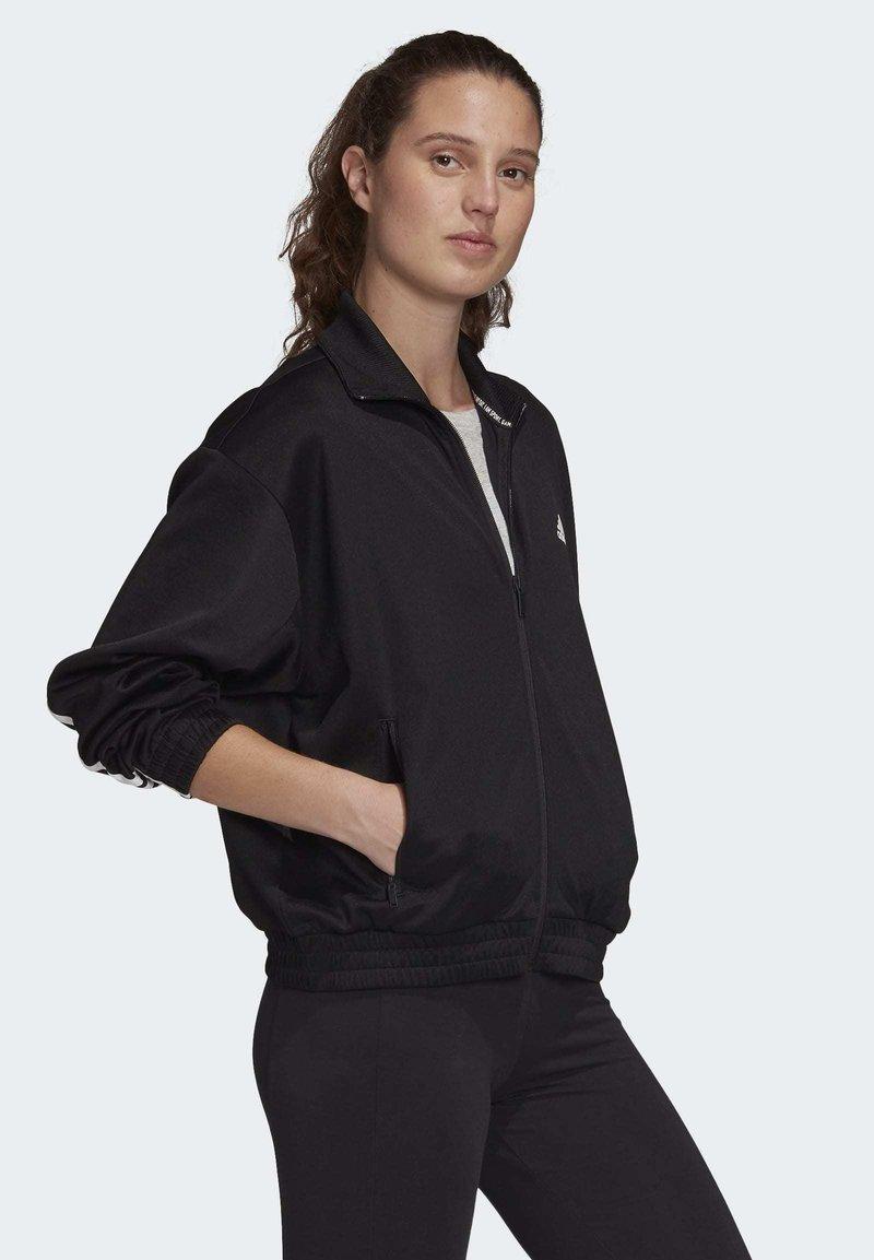 adidas Performance - MUST HAVES TRACK TOP - Training jacket - black