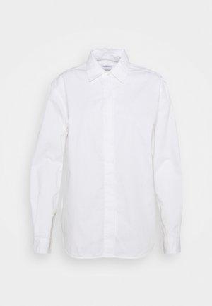 JUNIPER LOOSE LONG - Chemisier - bright white