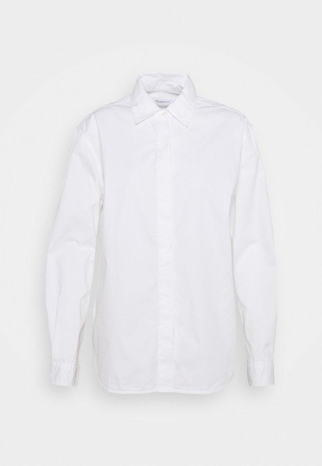 JUNIPER LOOSE LONG - Paitapusero - bright white