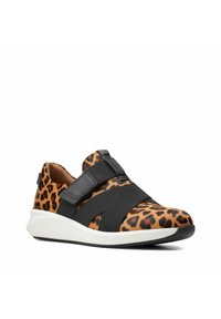 Clarks Unstructured - Trainers - leopard print - 1