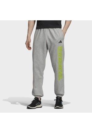 3-STRIPES GRAPHIC JOGGERS - Pantalones deportivos - grey
