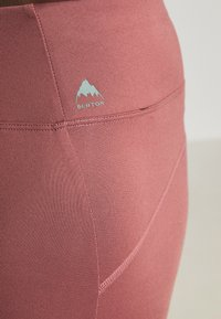 Burton - MULTIPATH LEGGING - Leggings - rose/brown - 4