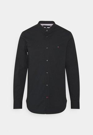 SLIM STRETCH SHIRT - Camicia - black
