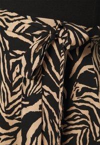 Dorothy Perkins - ZEBRA PRINT DRESS - Day dress - black - 5