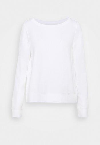 LONG SLEEVE - Sweatshirt - paper white