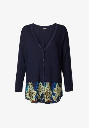 LUCERNA - Chaqueta de punto - blue