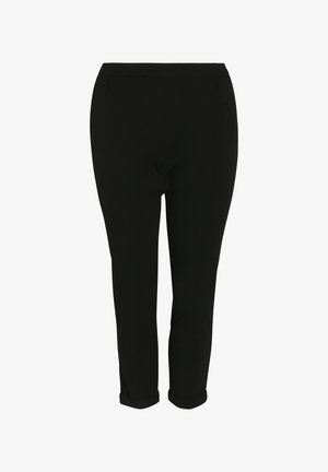 City mit Bundfalte - Broek - black