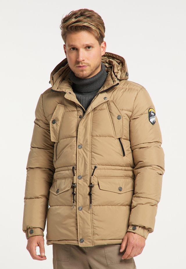 Winter jacket - beige