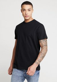 Urban Classics - BASIC TEE 2 PACK  - Basic T-shirt - black - 1