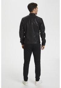 Matinique - Leather jacket - black - 3