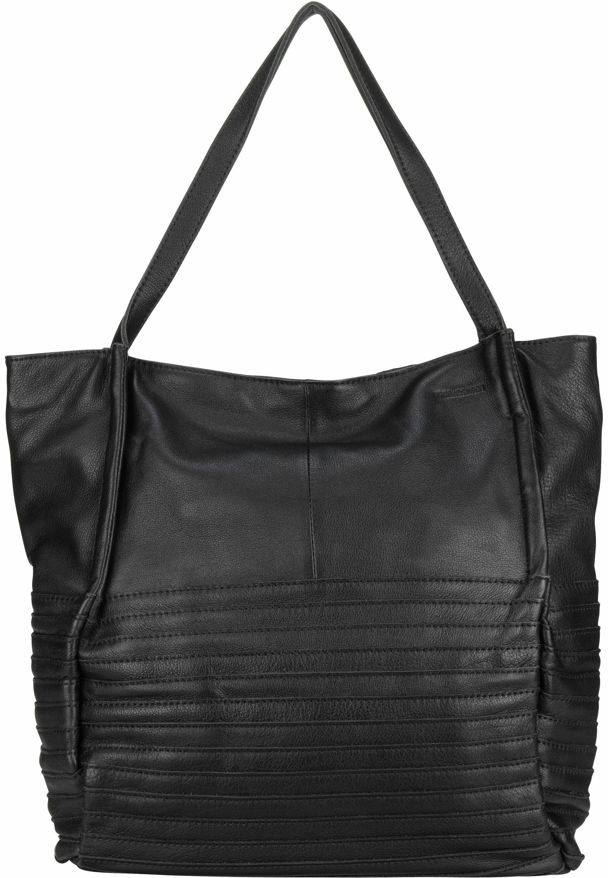 Fredsbruder Mob - Shopping Bag Black/schwarz