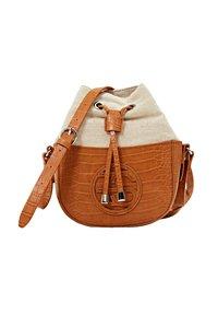 Esprit - Across body bag - caramel - 5