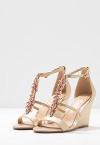 Lulipa London - LISETTE - High heeled sandals - gold - 4