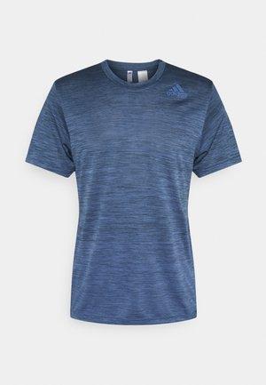 GRADIENT TEE - Jednoduché triko - blue