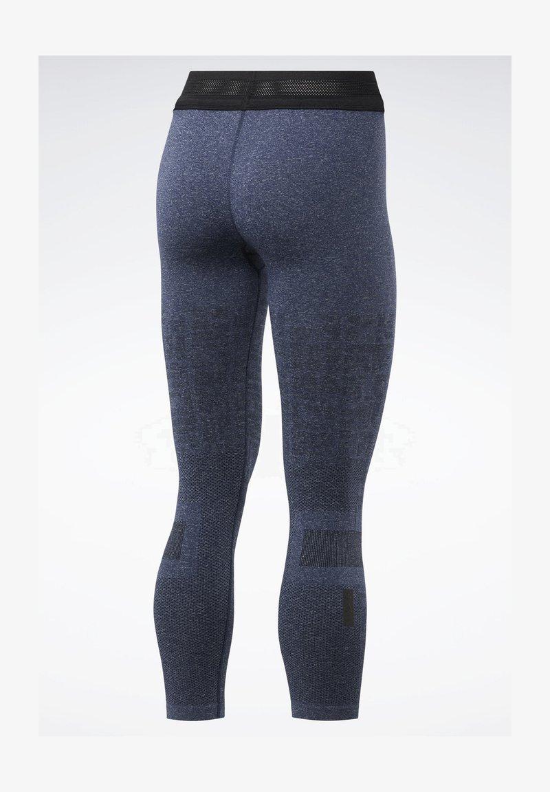 Reebok United By Fitness Myoknit Seamless 7 8 Leggings Legging Blue Zalando Nl