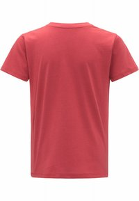 Haglöfs - CAMP TEE - Print T-shirt - brick red - 5