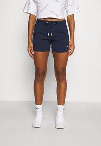 Fila - JADIANA TAPED SHORTS - Pantalón corto de deporte - black iris - 0