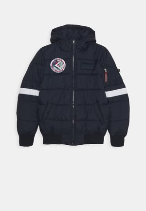 HOODED PUFFER NASA KIDS - Jas - blue