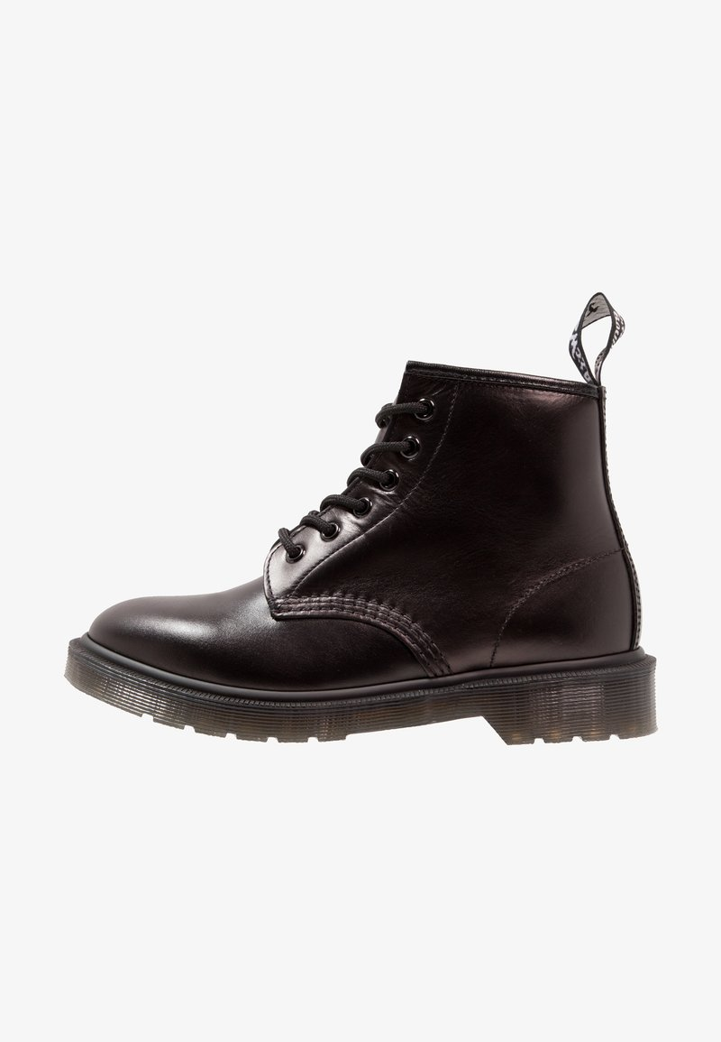 Dr. Martens - 101 BOOT - Lace-up ankle boots - black