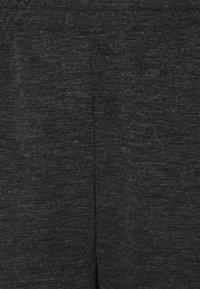 Pieces Petite - PCRELINO PANTS  LOUNGE - Tracksuit bottoms - dark grey melange - 2