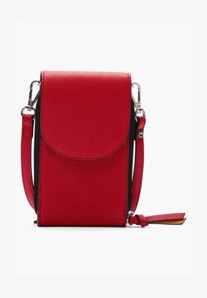 Across body bag - burned red
