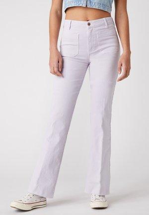 FLARE - Trousers - lavender haze