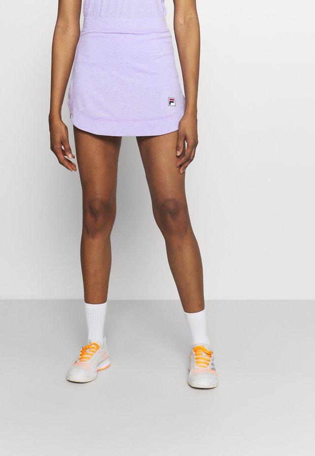 SKORT JULIA - Sportovní sukně - purple melange