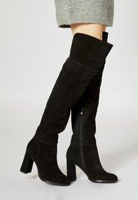 faina - Laarzen met hoge hak - black - 0