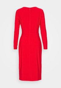 Lauren Ralph Lauren - CLASSIC DRESS - Jersey dress - lipstick red - 6