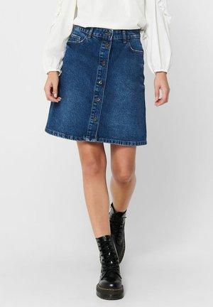 A-snit nederdel/ A-formede nederdele - medium blue denim