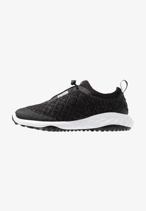 BREA FUSION SPORT - Golf shoes - black/white