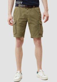 Napapijri - NORE - Shorts - olive green - 0