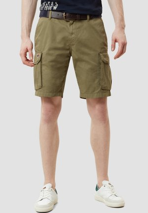 NORE - Shorts - olive green