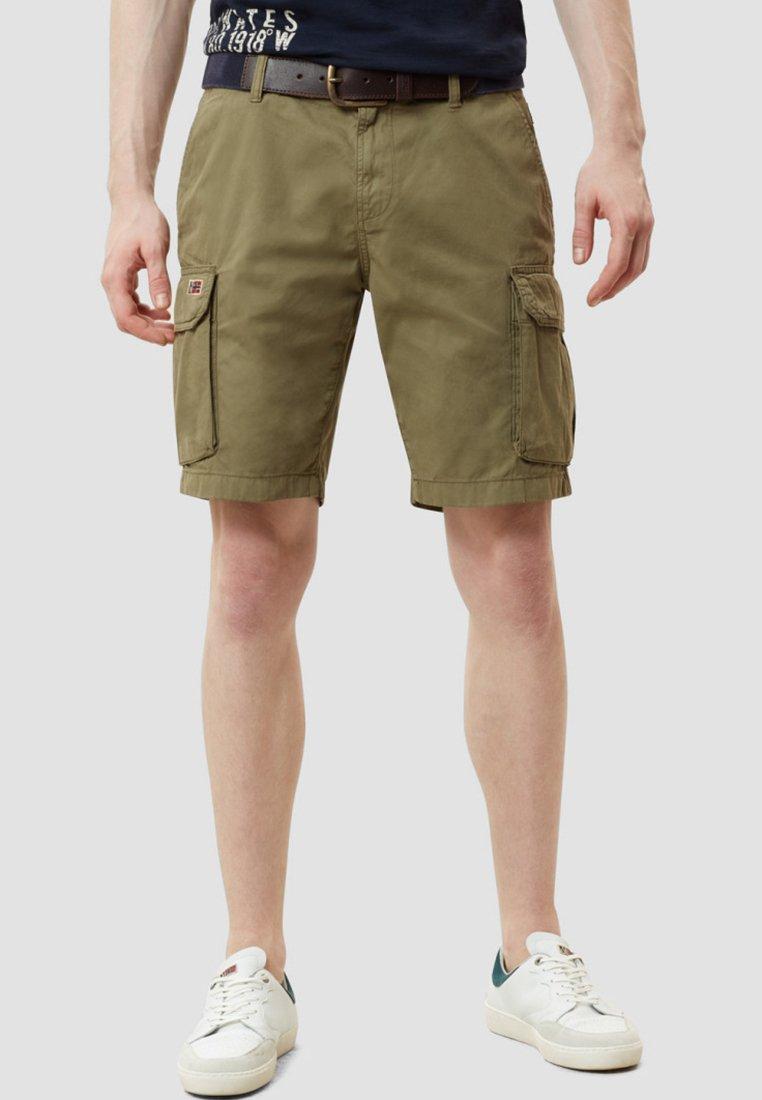 Napapijri - NORE - Shorts - olive green