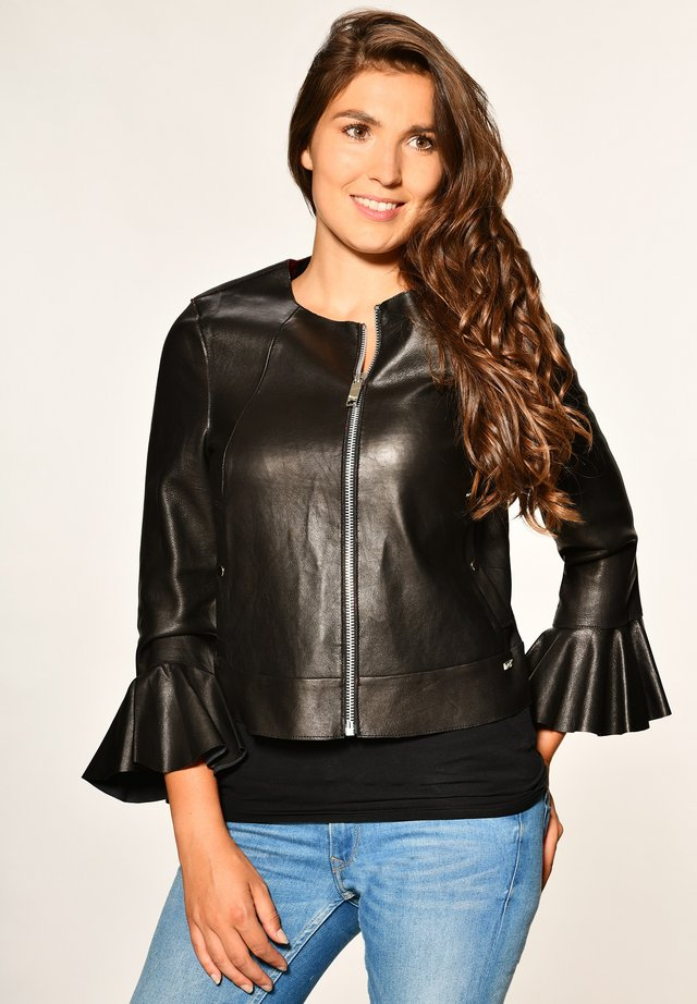 ELEGANT UND SCHICK LOVING - Leren jas - black