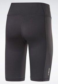 Reebok - LES MILLS® BIKE SHORTS - kurze Sporthose - black - 8