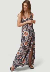 O'Neill - Maxi dress - black with red - 1
