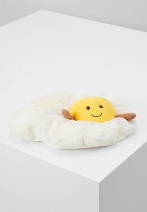 AMUSEABLE FRIED EGG - Cuddly toy - white