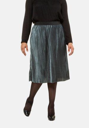 A-line skirt - helles petrolgrün