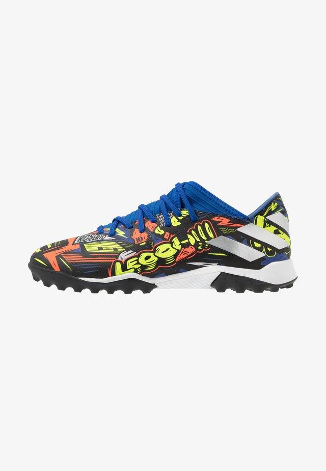 NEMEZIZ MESSI 19.3 TF - Voetbalschoenen voor kunstgras - team royal blue/silver metallic/solar yellow